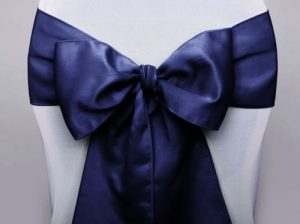 Stuhlschleife dunkelblau