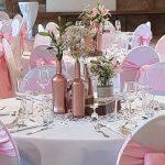 Stuhlschleifen rosa